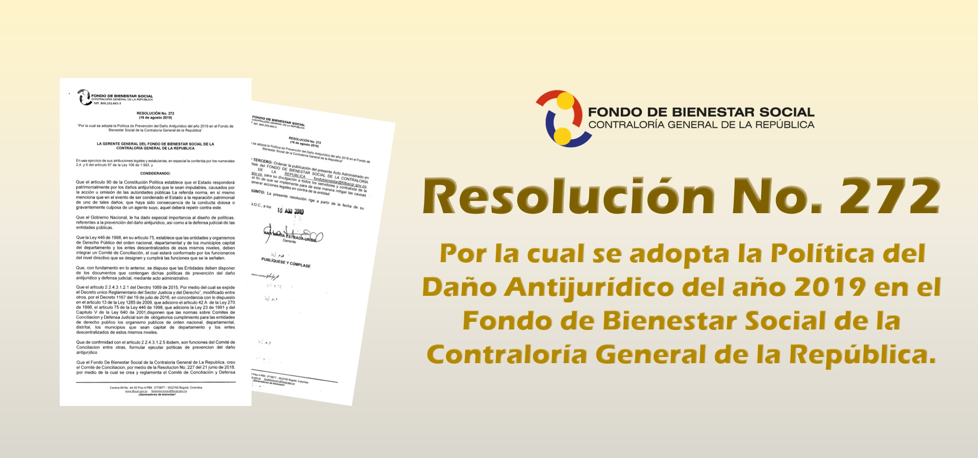 Info foto Resolución 272