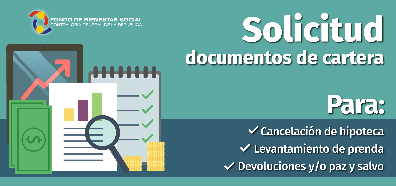 Informacion Solicitud documentos de cartera