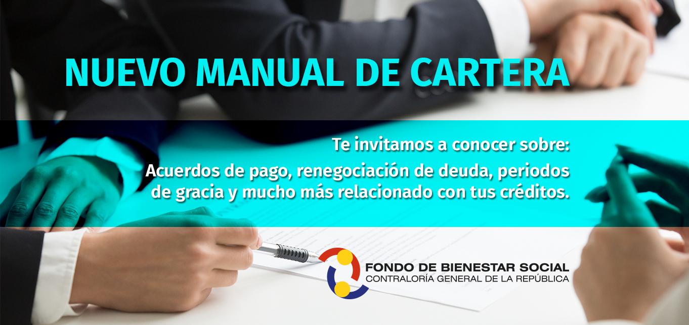 Informacion Nuevo Manual de Cartera