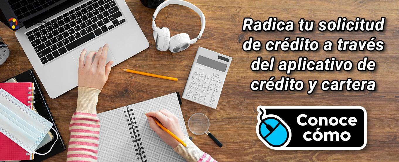 Informacion APLICATIVO DE CRÉDITO Y CARTERA